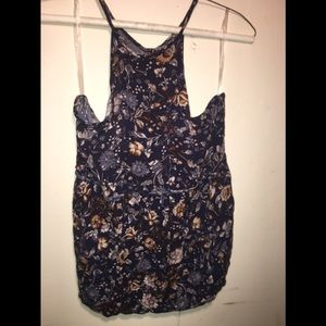 American Eagle Outfitters Floral Tank